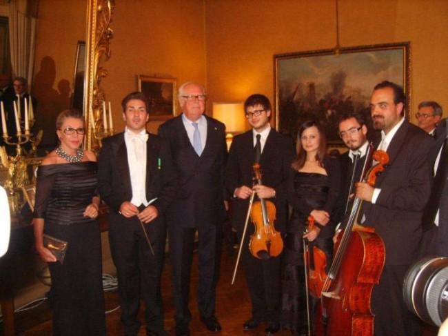 Concerto Omaggio alla Principessa Marina di Savoia per il Compleanno del Maestro