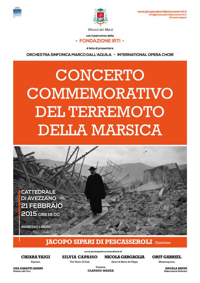 Concerto Commemorativo del Terremoto della Marsica