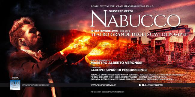 Il Nabucco di Verdi a Pompei