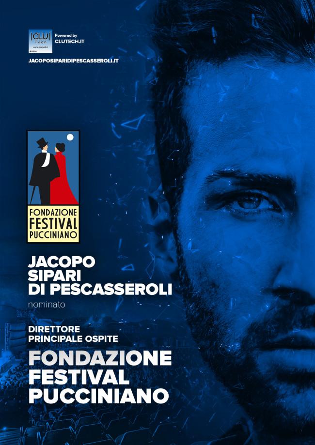 Nomina Direttore Principale della Fondazione Festival Pucciniano