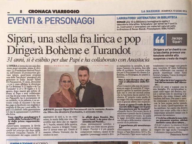 La Boheme di Giacomo Puccini a Torre del Lago