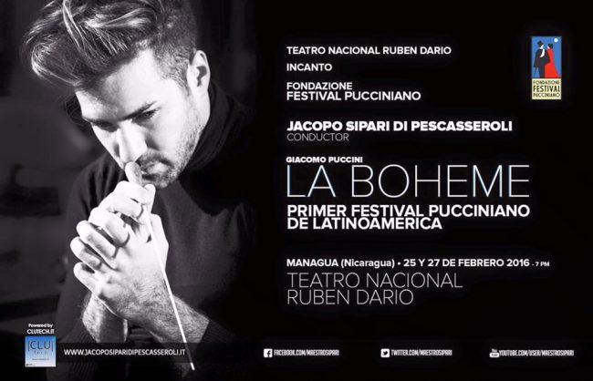 La Boheme al Primer Festival Pucciniano de Latinoamerica