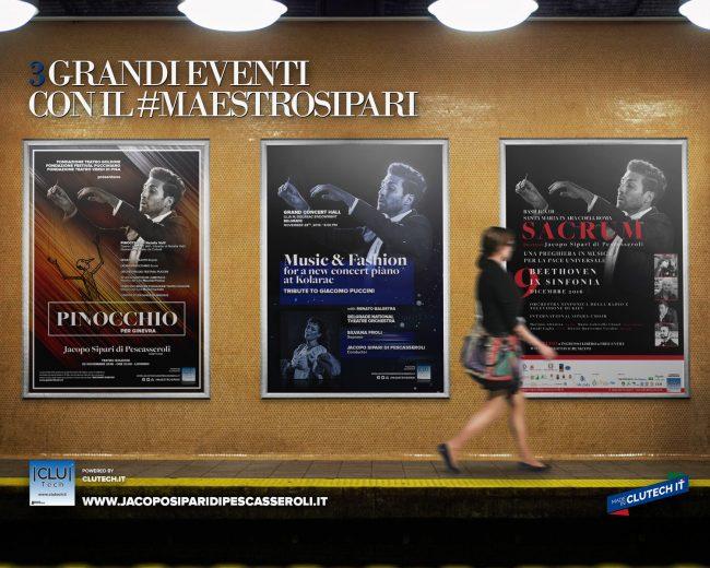 Tre concerti internazionali per il Maestro Sipari